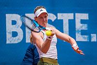 Amstelveen, Netherlands, 7 Juli, 2021, National Tennis Center, NTC, Amstelveen Womans Open, Despina Papamichail (GRE)<br /> Photo: Henk Koster/tennisimages.com