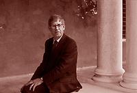 Jonathan Galassi, presidente dell'editore americano Ferras, Straus e Giroux. Scrittore, poeta, libri cultura americana.Venezia, 2 febbraio 2004. Photo by  Leonardo Cendamo/Gettyimages