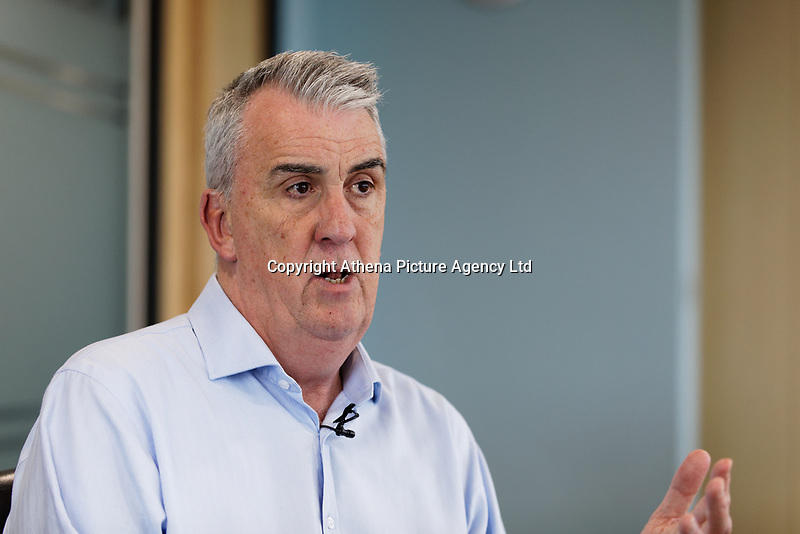 Pictured: Andrew Falvey. Wednesday 29 May 2019<br /> Re: DVLA in Swansea, Wales, UK.