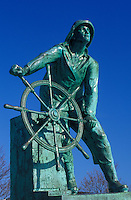 Gloucester, MA, Massachusetts, Fisherman's Monument along Stacy Boulevard in Gloucester