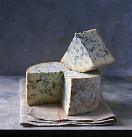 Europe/Grande-Bretagne/Leicestershire:Fromage Stilton AOC  - Stylisme : Valérie LHOMME
