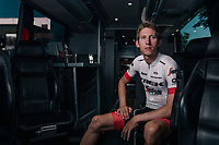 Bauke Mollema (NED/Trek-Segafredo) showing the Trek-Segafredo 2018 Tour de France kit