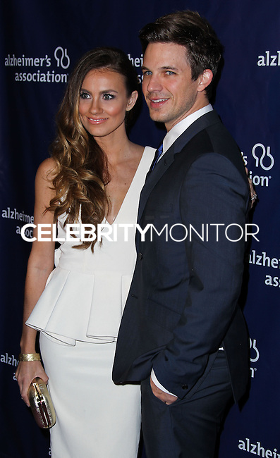 """BEVERLY HILLS, CA, USA - MARCH 26: Angela Stacy, Matt Lanter at the 22nd """"A Night At Sardi's"""" To Benefit The Alzheimer's Association held at the Beverly Hilton Hotel on March 26, 2014 in Beverly Hills, California, United States. (Photo by Xavier Collin/Celebrity Monitor)"""
