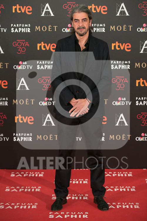 Fernando Leon de Aranoa attends 30th Goya Awards red carpet in Madrid, Spain. February 06, 2016. (ALTERPHOTOS/Victor Blanco)