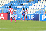 JSW Bengaluru FC (IND) vs Tampines Rovers (SIN) during their AFC Cup 2016 Quarter Finals match at Sree Kanteerava Stadium on 14 September 2016, in Bangalore, India. Photo by Saikat / Lagardere Sports