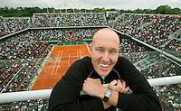 28-5-09, France, Paris, Tennis, Roland Garros, Olivier R. van Lindonk, Vice President IMG Tennis,
