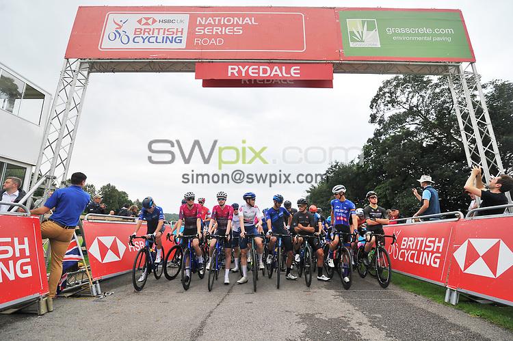 Picture by Craig Zadoroznyj/SWpix.com - 22/08/2021 - British Cycling - National Women's Series Road - The Ryedale Grasscrete Men's Grand Prix 2021 - Ampleforth Abbey, Yorkshire.<br /> -