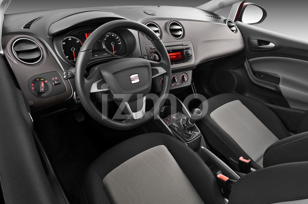 2013 Seat Ibiza Style Hatchback Dashboard View Izmostock