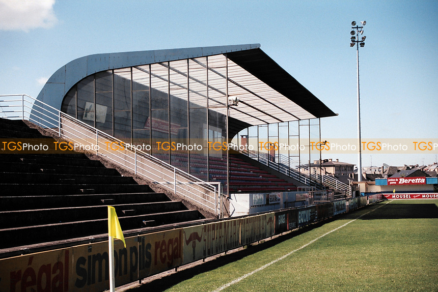 General view of Stade Achille Hammerel, home of Racing FC Union Luxembourg