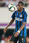 Geoffrey Kondogbia of FC Internazionale Milano in action during the FC Internazionale Milano vs Real Madrid  as part of the International Champions Cup 2015 at the Tianhe Sports Centre on 27 July 2015 in Guangzhou, China. Photo by Aitor Alcalde / Power Sport Images
