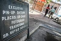 Sitio exclusivo, Estacionamiento exclusivo del fallecido fotografo Rutilio Souza J. Sitio parque el mundido en e centro de hermosillo