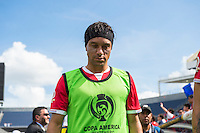 Orlando, Florida - Saturday, June 04, 2016: Costa Rican midfielder Christian Bolanos (7) walks to the bench moments before the start of a Group A Copa America Centenario match between Costa Rica and Paraguay at Camping World Stadium.