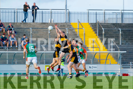 Mark O'Shea, Dr. Crokes during the Kerry County Senior Football Championship Semi-Final match between Mid Kerry and Dr Crokes at Austin Stack Park in Tralee, Kerry.