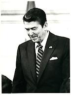 Alexander Haig and Ronald Reagan visit to Canada, November 3, 1981<br /> <br /> <br /> PHOTO : Agence Quebec Presse
