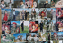 Iran 2004  In Sanandaj, a garrison town,a photographer exhibiting  numerous photos of Iranian soldiers amidst portraits of Kurds.  <br />