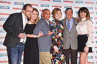 Liam Fox, Michelle Hardwick, Charlotte Bellamy, John Middleton and Laura Norton<br /> at the Inside Soap Awards 2016 held at the Hippodrome Leicester Square, London.<br /> <br /> <br /> ©Ash Knotek  D3157  03/10/2016