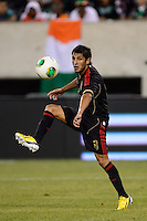 Mexico midfielder Angel Reyna (8). Mexico defeated the Ivory Coast 4-1 during an international friendly at MetLife Stadium in East Rutherford, NJ, on August 14, 2013.