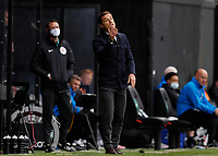 23rd May 2021; Craven Cottage, London, England; English Premier League Football, Fulham versus Newcastle United; Fulham Manager Scott Parker