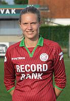 Dames SV Zulte Waregem :<br /> Annelies Vangheluwe<br /> foto VDB / BART VANDENBROUCKE