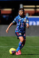 HARRISON, NJ - MARCH 08: Narumi Miura #17 of Japan during a game between England and Japan at Red Bull Arena on March 08, 2020 in Harrison, New Jersey.