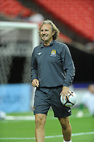 Mancester City goalkeeping coach Mssimo Battara. The 2010 Atlanta International Soccer Challenge was held, Wednesday, July 28, at the Georgia Dome, featuring a match between Club America and Manchester City. After regulation time ended 1-1, Manchester City was awarded the victory, winning 4-1, in penalty kicks.