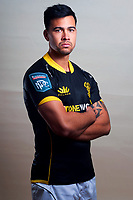 Brandyn Laursen. 2021 Wellington Lions rugby headshots at Manitoba Place in Wellington, New Zealand on Tuesday, 3 August 2021. Photo: Dave Lintott / lintottphoto.co.nz