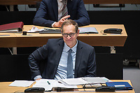 Plenarsitzung des Berliner Abgeordnetenhaus am Donnerstag den 14. Januar 2021.<br /> Im Bild: Der Regierende Buergermeister Michael Mueller (SPD).<br /> 14.1.2021, Berlin<br /> Copyright: Christian-Ditsch.de