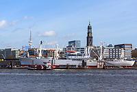 Skyline St. Pauli, Hamburg, Deutschland, EuropaSkyline St. Pauli,  Hamburg, Germany, Europe
