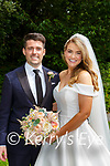 Kate Fitzgerald, Fossa and Model Farm Rd Cork, daughter of Brian and Bridie and Owen Keating Carrig na bhfear Cork son of Neil and Katheane who were married in the Prince of Peace church Fossa on Saturday best man was Diarmuid Mac Curtain, groomsmen were Matthew Keating, Michael Carroll and Damien Attridge, bridesmaids were Ciara O'Brien, Sarah rooney, Nicola Hogan and Amanda Still, flowergirl was Aisling O'Brien, pageboys were Ruairi O'Brien and Brian Rooney, the reception was held in Ballyseede Castle the couple will reside in Cork