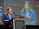 Berlin-Germany - May 23, 2014 -- International Trade Union Confederation - 3rd ITUC World Congress 'Building Workers' Power'; here, Elizabeth H. 'Liz' Shuler / AFL-CIO -- Photo: © HorstWagner.eu / ITUC