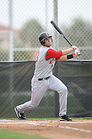 August 14, 2008: Casey Kelly (6) of the GCL Red Sox. Photo by: Chris Proctor/Four Seam Images