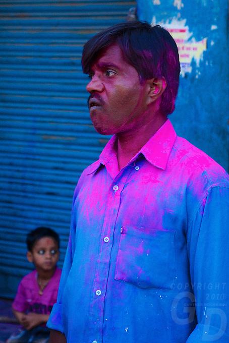 Varanasi India, Arti Ceremony and Holi Festival