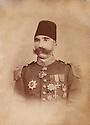 Palestine 1900?.Osman Pacha Bedir Khan, governor of Jerusalem, brother of Emin Ali Bedir Khan.<br /> Palestine 1900?.Osman Pacha Bedir Khan, gouverneur de Jerusalem, frere de Emin Ali Bedir Khan