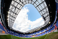 Harrison, NJ - Tuesday April 10, 2018: Red Bull Arena prior to leg two of a  CONCACAF Champions League semi-final match between the New York Red Bulls and C. D. Guadalajara at Red Bull Arena. C. D. Guadalajara defeated the New York Red Bulls 0-0 (1-0 on aggregate).