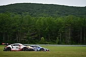 IMSA WeatherTech SportsCar Championship<br /> Northeast Grand Prix<br /> Lime Rock Park, Lakeville, CT USA<br /> Saturday 22 July 2017<br /> 911, Porsche, Porsche 911 RSR, GTLM, Patrick Pilet, Dirk Werner, 86, Acura, Acura NSX, GTD, Oswaldo Negri Jr., Jeff Segal<br /> World Copyright: Richard Dole<br /> LAT Images