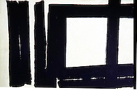 American Painters:  Franz Kline--Painting #7, 1952. Oil on canvas.  Solomon R. Guggenheim Museum.