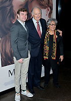 "LOS ANGELES, USA. November 06, 2019: Alan Alda, Arlene Alda & Jake Alda Coffey at the premiere for ""Marriage Story"" at the DGA Theatre.<br /> Picture: Paul Smith/Featureflash"