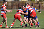 NELSON, NEW ZEALAND - AUGUST 8: Div 2 Rugby - Wanderers v WOB, Brightwater, 8th August, New Zealand. (Photos by Barry Whitnall/Shuttersport Limited)