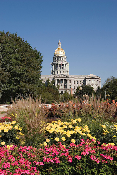 """Civic Center Park and the State Capitol, Denver, Colorado. From: """"Denver, Colorado: A Photographic Portrait"""" by John Kieffer John offers private photo tours of Denver, Boulder and Rocky Mountain National Park. .  John offers private photo tours in Denver, Boulder and throughout Colorado. Year-round."""