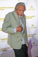 Michael Lonsdale, photocall d'arrivée pour la cérémonie de remise des prix de la Fondation Positive Planet de Jacques Attal, lors du soixante-dixième (70ème) Festival du Film à Cannes, Palm Beach, Cannes, Sud de la France, mercredi 24 mai 2017.