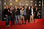 52 FESTIVAL INTERNACIONAL DE CINEMA FANTASTIC DE CATALUNYA. SITGES 2019.<br /> Red Carpet Awards Ceremony.<br /> El Equipo de la pelicula El Hoyo.