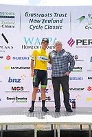 Tour leader Aaron Gate. Stage Three - Te ara roa (Te Awamutu circuit). 2019 Grassroots Trust NZ Cycle Classic UCI 2.2 Tour from Te Awamutu in Cambridge, New Zealand on Friday, 25 January 2019. Photo: Dave Lintott / lintottphoto.co.nz