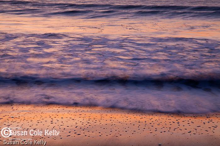 A beautiful sunrise at Revere Beach, Revere, MA, USA