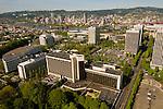 Aerial View of the Lloyd District, Portland, Oregon