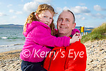 Enjoying a stroll in Banna on Thursday, l to r:  Grace and Alan King