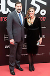 Alfonso Reyes and Amaya Valdemoro attends to photocall of 50th anniversary sport newspaper As in Madrid, Spain. December 04, 2017. (ALTERPHOTOS/Borja B.Hojas)