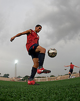 Carlos Martinez. U.S. Under-17 Men Training  Kano, Nigeria