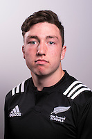 Flynn Thomas. The 2016 New Zealand Schools rugby union team headshots at King's College, Auckland, New Zealand on Friday, 30 September 2016. Photo: Dave Lintott / lintottphoto.co.nz