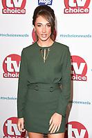 Megan McKenna<br /> arriving for the TV Choice Awards 2017 at The Dorchester Hotel, London. <br /> <br /> <br /> ©Ash Knotek  D3303  04/09/2017
