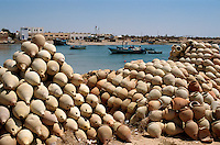 Hafen, Adjim, Djerba, Tunesien